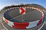 Traffic Circle, Miltenberg, Bavaria, Germany