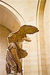 Victoire ailée de Samothrace, le Musée du Louvre, Paris, Ile-de-France, France