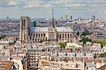 Notre Dame De Paris, Paris, Ile de France, France