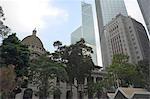 Central skyline,Hong Kong