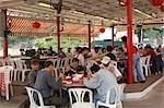 Chinese restaurant at Lamma Island,Hong Kong