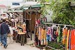 Vendar Kleidung auf Lamma Island, Hong Kong