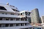 Le cruiser et le Gateway de Hong Kong