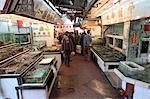 Seafood market at Lei Yu Mun,Hong Kong