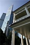 Bank of China Building & the teaware museum,Hong Kong