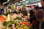 Vegetable market at Quarry Bay,Hong Kong