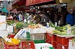 Shopping at Quarry Bay market,Hong Kong