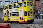 Tram at Shaukeiwan terminal,Hong Kong