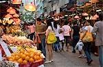 Wet market at Shaukeiwan,Hong Kong