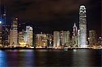 Central & Admiralty skyline from Wanchai,Hong Kong