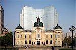 Bank of China building at Zhongshan Square,Dalian,China,Dalian China