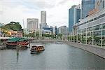Commercial buildings at Clarke Quay,Singapore
