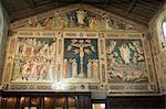 Santa Croce church, Florence (Firenze), UNESCO World Heritage Site, Tuscany, Italy, Europe