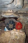 Cave tombe à Londa, Toraja zone, Sulawesi, en Indonésie, l'Asie du sud-est, Asie