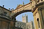 Bath Abbey, Bath, Avon, England, UK