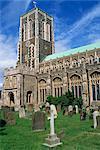 Extérieur de l'église et le cimetière, Southwold, Suffolk, Angleterre, Royaume Uni, l'Europe chrétienne
