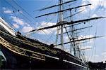 Le Cutty Sark, Greenwich, Londres, Royaume-Uni, Europe