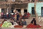 Dimanche sur les marchés, Kashgar, Province de Xinjiang, Chine, Asie