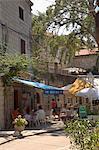 Pavement cafe, Cavtat, Dalmatia, Croatia, Europe