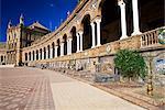 Plaza de Espana, Seville, Andalucia, Spain, Europe