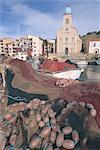 Fishing boats, Port Vendres, Roussillon, France, Europe