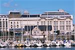 Casino d'autre côté du port, Trouville, Basse Normandie (Normandie), France, Europe