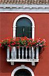 Burano, Venedig, Veneto, Italien, Europa