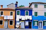 Burano, Venise, Vénétie, Italie, Europe
