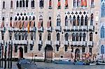 Palaces along the Grand Canal, Venice, Veneto, Italy, Europe