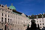 Inner Square, Hofburg, Vienna, Austria, Europe