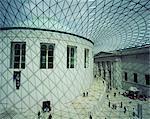 La grande cour, British Museum, Angleterre, Royaume-Uni, Europe