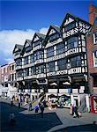 The Rows, Bridge Street, Chester, Cheshire, England, United Kingdom, Europe