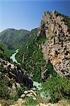 Verdon Gorges, Alpes de Haute Provence, Provence, France, Europe