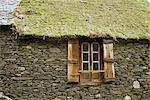 Detail of house near Bielsa, Huesca, Aragon, Spain, Europe
