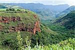 Waimea Canyon view, Kauai, Hawaii, États-Unis d'Amérique, l'Amérique du Nord