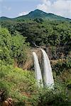 Wailua Falls, Kauai, Hawaii, États-Unis d'Amérique, l'Amérique du Nord