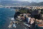 The seaside town of Sorrento, near Naples, Campania, Italy, Mediterranean, Europe