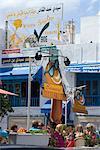 Town centre, Hammamet, Tunisie, l'Afrique du Nord, Afrique