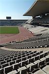 Olympic Stadium, Barcelone, Catalogne, Espagne, Europe