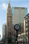 16th street Mall, avec D & F tour, Denver, Colorado, États-Unis d'Amérique, l'Amérique du Nord