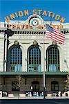 Union Train Station, Denver, Colorado, États-Unis d'Amérique, l'Amérique du Nord