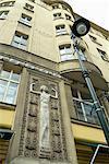 Art deco detail, Prague, Czech Republic, Europe