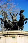 Statue von Boadicea (Boudicca), Westminster, London, England, Vereinigtes Königreich, Europa