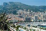 Vue du port de la Condamine sur Monaco, Europe
