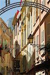 La vieille ville, Veille de Monaco, Monaco, Europe