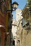 Village de Roquebrune, Alpes-Maritimes, Provence, France, Europe