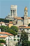 Trophée des Alpes, monument romain, La Turbie, Alpes-Maritimes, Provence, France, Europe