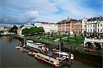 River Thames near Richmond Bridge, Richmond, England, Surrey, United Kingdom, Europe