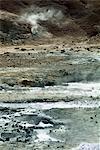 Krisuvik Thermal Area, en Islande, les régions polaires