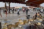 Café de l'Etoile, Jemaa el Fna, Marrakech, Maroc, Afrique du Nord, Afrique